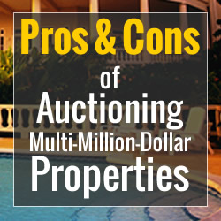 Auctioning a House Pros and Cons