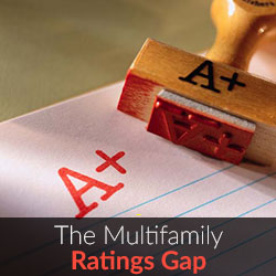 The Multifamily Ratings Gap