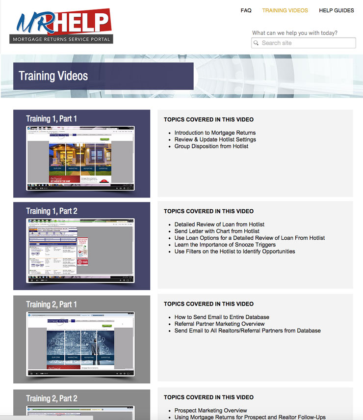 mortgage industry software