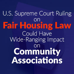 Fair Housing Act and HOA