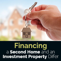 Financing a Second Home and an Investment Property Differ