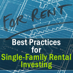 single family rental investing
