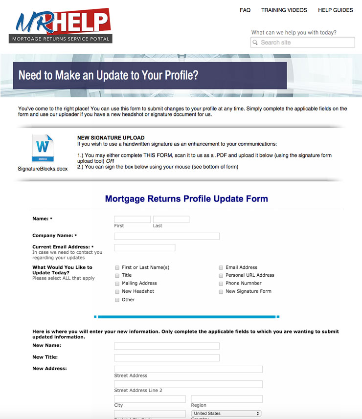 mortgage lending software